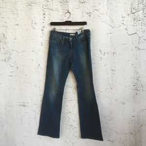 LEVIS LOW BOOT CUT JEANS 545 10 L/C